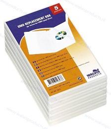 Walvis 5-pack standaard 1UMD (Universal Media Disc) doosjes, kleur: transparant