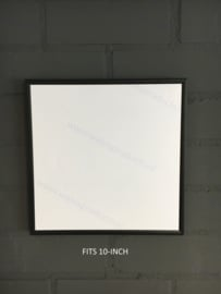 10-inch Wissellijst Vinyl Mini LP Cover - Zwart Aluminium Frame