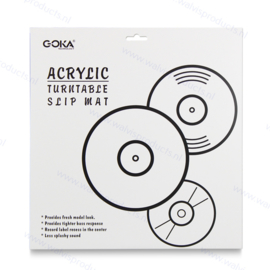 Goka Acrylic Turntable Mat