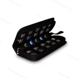 MediaRange Data Wallet - capacity: 10 USB Sticks & 5 SD Cards