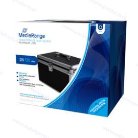MediaRange Storage Case, black - capacity: 120 discs