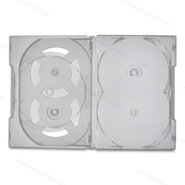 Scanavo 14 mm - 5-Disc Overlap™ 5-DVD box, colour: super clear