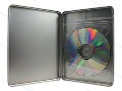 DVD blikverpakking, rechthoekig, voor 1 CD/DVD