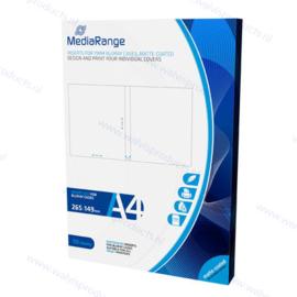 MediaRange 50-pack Inlays voor 11 mm. Blu-Ray Cases