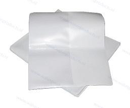 100 Stück - Ticket und Flugscheinhüllen - Weiß - Onbedruckt