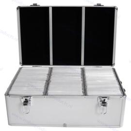 MediaRange Storage Case, silver - capacity: 500 discs