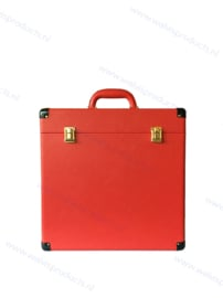 Walvis Retro-Style Carrying Case, red - capacity: approx. 40 units 12-Inch Records
