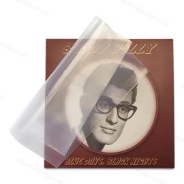100 stuks - Grammofoonplaten beschermhoes voor Singles, polyethyleen, dikte 0.10 mm.
