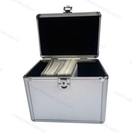 MediaRange Opbergkoffer voor 120 discs, zilver