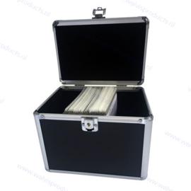 MediaRange Opbergkoffer voor 120 discs, zwart