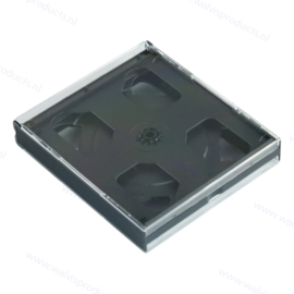 Multipack 24 mm 6CD Box - with pre-mounted trays