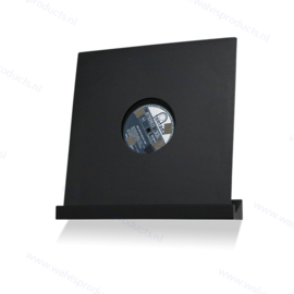 The Walvis Record Shelf - black colour