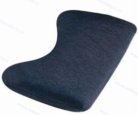 Walvis Products Mouse Wrist Pad (muis-polssteun), kleur: zilver-grijs