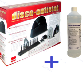 Combideal ►Knosti Disco-Antistat Platen-wasmachine + 1 liter WalvisWater© Record Cleaning Solution
