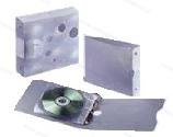 Smead Ringband voor 20 CD's/DVD's, inclusief 20 hoesjes voor elk 1 CD - compleet met foudraal
