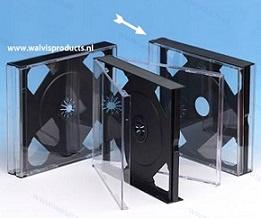 Multipack 24mm. 2CD doosje, zonder trays