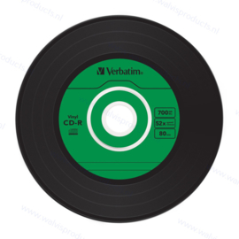 Verbatim CD-R AZO 700MB 52X Vinyl Surface | 10-pack in slimcase
