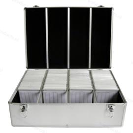 MediaRange Opbergkoffer voor 1000 discs, zilver