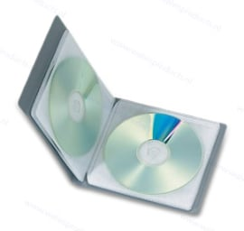 Walvis Products CD Binder, holds 1 disc per page - capacity: 8 discs