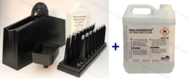 Combideal ►Knosti Disco-Antistat Platen-wasmachine + 5 liter WalvisWater© Record Cleaning Solution