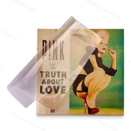 100 Stück - Blake Sleeves - LP Schutzhüllen ohne Klappe, Dicke 0.05 mm.