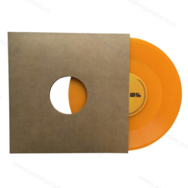 """Card 10"""" Vinyl Record Sleeve with centre holes, brown 300 grs. kraft"""