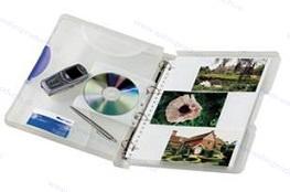 Walvis Products Hardbox voor 60 hardcopy foto's, inclusief 10 hoezen voor elk 6 foto's