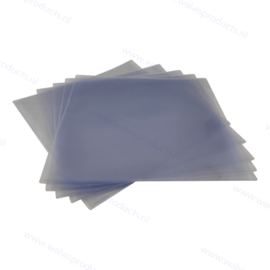 """Heavyweight 12"""" PVC Glass Clear Vinyl Record Outer Sleeve, thickness 180 micron"""