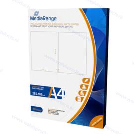 MediaRange 50-pack Inlays voor Slim (7 mm.) DVD Cases