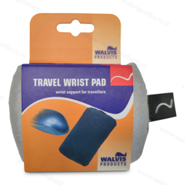 Walvis Products Travel Mouse Wrist Pad, colour: silver-grey
