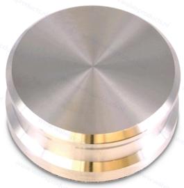 Tonar Schallplatten Stabilisatorgewicht - 760 Gramm - Silber