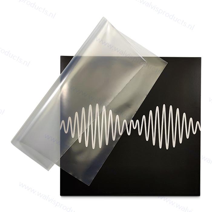 100 stuks - Grammofoonplaten beschermhoes voor LP's, polyethyleen, dikte 0.15 mm.
