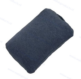 Walvis Products Travel Mouse Wrist Pad (muis-polssteun), kleur: zilver-grijs