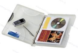Walvis Products Hardbox voor 20 DVD's en 20 DVD booklets, inclusief 10 hoezen voor elk 2 DVD's
