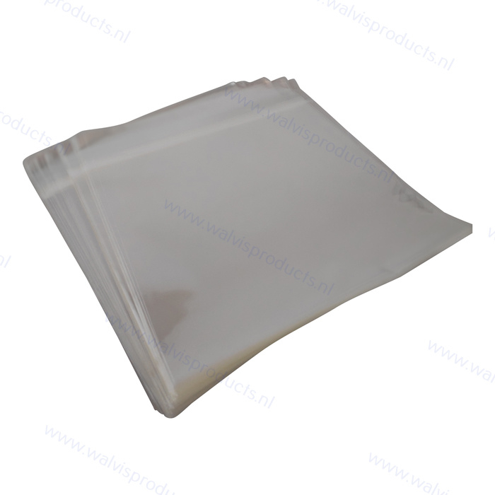 100 stuks - Blake Sleeves - Dubbel LP hoezen, met klep, dikte 0.05mm.