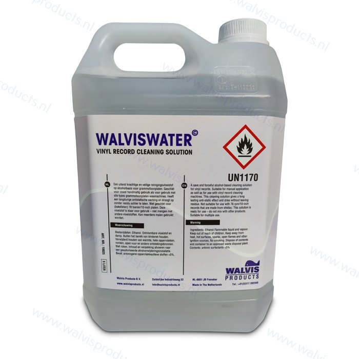 Jerrycan à 5 Liter WalvisWater© Record Cleaning Solution