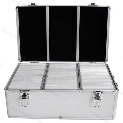 MediaRange Opbergkoffer voor 500 discs, zilver