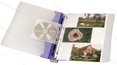 Walvis Products Ringband voor 60 hardcopy foto's, inclusief 10 hoezen voor elk 6 foto's