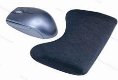 Walvis Products Mouse Wrist Pad (muis-polssteun), kleur: zwart