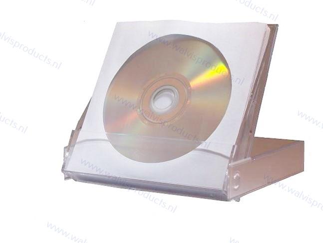 Walvis Products 10CD/DVD Sleeves box, inclusief 10 hoesjes voor elk 1 CD