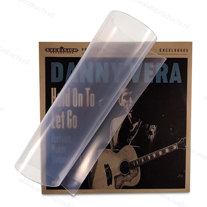 100 stuks - Grammofoonplaten beschermhoes voor Singles, polyethyleen, dikte 0.15 mm.