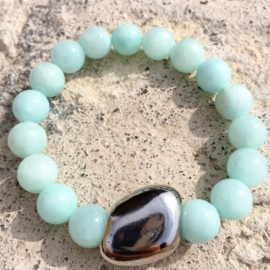 Jade light blue