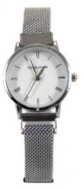 Quartz horloge zilver