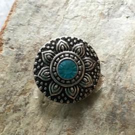 Chunk zilver blauwe steen
