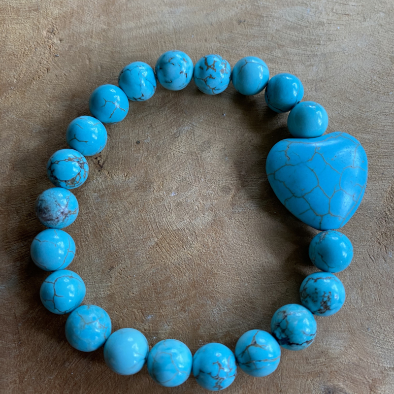 Full of hearts Turquoise