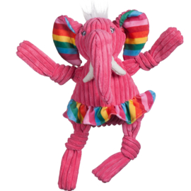 Hugglehounds Rainbow Elephant Knottie Small