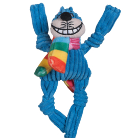 Hugglehounds Rainbow Cheshire Cat Knottie Wee