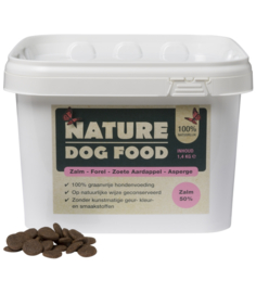 Nature Dog Food Zalm, Forel & Asperge 1,4 kg