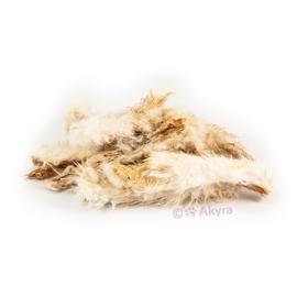 Akyra konijnenhuid met vacht 250 gr
