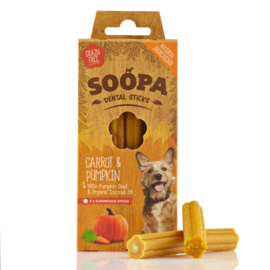 Soopa Dental Sticks -Carrot & Pumpkin